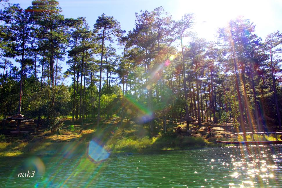 Tuyen Lam - located 6km South from the city center - is the largest lake in Dalat.