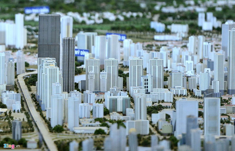 Numerous high-rise buildings will be built.