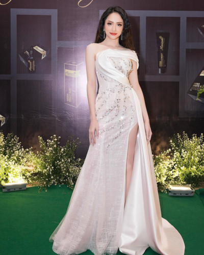 Miss International Queen 2018 Huong Giang stuns in a sequin dress.