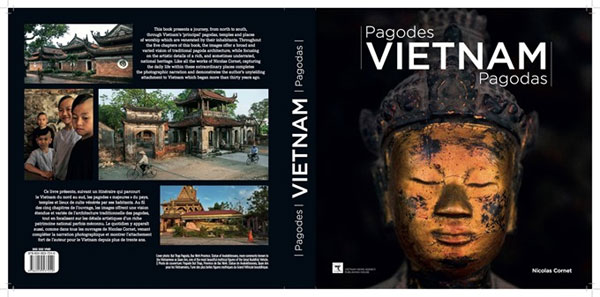 French photographer issues book about pagodas in Vietnam